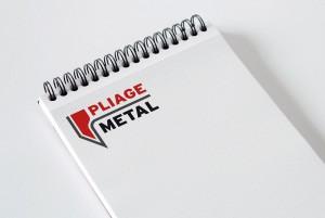 Logo pour Pliage Métal - atelier disegno