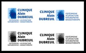 Étude de logo pour la Clinique Alain Dubreuil - atelier disegno