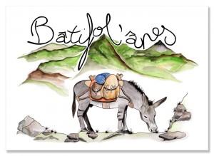 Logo Batifol'ânes - atelier disegno