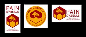 Création logo Pain d'abeille - atelier disegno